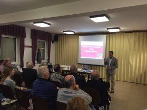 Einbruchschutz war Thema auf einem Infoabend mit einem Sicherheitsberater der Polizei in Eschbach